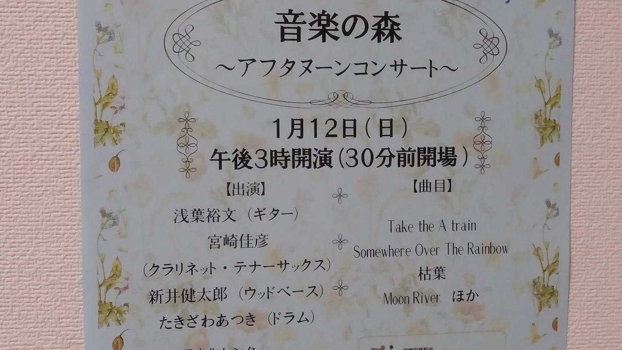 音楽の森アフタヌーンティーコンサート